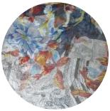 шарфы шифоновые цветные 110см*175см шелковый шарф 0001