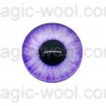 глазки для игрушек стеклянные 14мм цвет 10