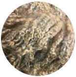 кудри и флис натуральные не окрашенные флис венслидейл 15-18см грязный