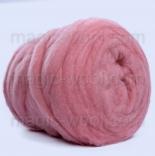 мериносовый сливер 18-19 мкм Новая Зелландия розовый