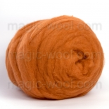 мериносовый сливер 18-19 мкм Новая Зелландия оранжевый