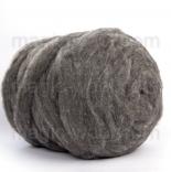 мериносовый сливер 18-19 мкм Новая Зелландия натурально серый