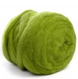 мериносовый сливер 18-19 мкм Новая Зелландия зеленый