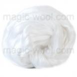 шелк Maulbeer окрашенный Италия натурально белый