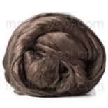 шелк Maulbeer окрашенный Италия пепел