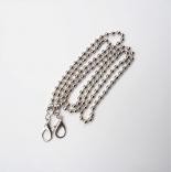 Рамочные замки, цепочки для сумок цепочка для сумок никель118см