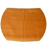 шарфы шелковые окрашенные однотонные и с переходами оранжевый