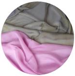 шарфы шелковые окрашенные однотонные и с переходами мультиколор 012