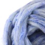 Твид - шерсть+ вискозное волокно голубая чашка