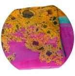 шарфы шифоновые цветные 110см*175см шелковый шарф 050