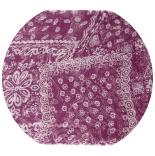 шарфы шифоновые цветные 110см*175см шелковый шарф 0046