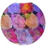 шарфы шифоновые цветные 110см*175см шелковый шарф 028