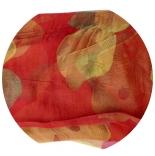 шарфы шифоновые цветные 110см*175см шелковый шарф 0014