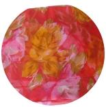 шарфы шифоновые цветные 110см*175см шелковый шарф 0009
