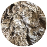 кудри и флис натуральные не окрашенные флис скандинавский натурально светлый