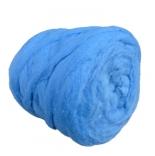 мериносовый сливер 18-19 мкм Новая Зелландия голубой