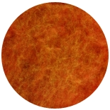 мерино меланж 21мкм Германия оранжевый закат