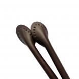кожаные ручки для сумок шоколад 60см сплит кожа