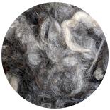 кудри и флис натуральные не окрашенные готланд вымытый фабрично