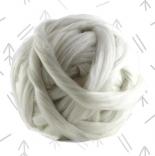 Фольклор - шерсть+вискоза+бамбук колыбельная (белый)