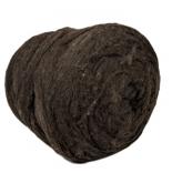 мериносовый сливер 18-19 мкм Новая Зелландия темно коричневый