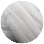 меринос натуральный (merino) + бленды меринос натурально белый 22мкм