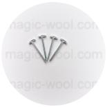 шплинты, диски, шайбы и другие крепежи для игрушек шплинты Т-образные 2.5х28