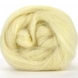 неокрашенная шерсть и бленды из шерсти натурально белая