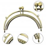 Рамочные замки, цепочки для сумок оригинальный фермуар 12,5*9см антик