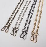 Рамочные замки, цепочки для сумок цепочка для фермуара 120см антик
