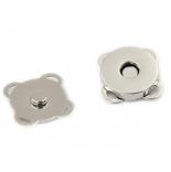 Замки, застежки, магниты магнитная кнопка пришивная 14мм никель
