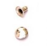 Люверсы, блочка, хольнитены, петли хольнитен полусфера 8 мм никель