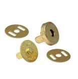 Замки, застежки, магниты магнитная кнопка золото 18мм