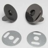 Замки, застежки, магниты магнитная кнопка темный никель 18мм
