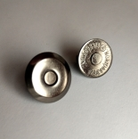 Замки, застежки, магниты кнопка магнит плоская16мм темный никель