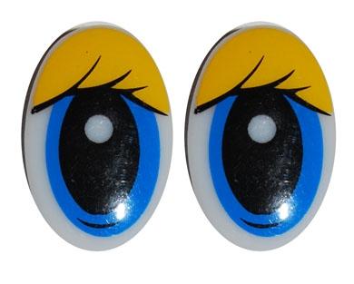 Глаза для кукол из пластики. Елена Лаврентьева.