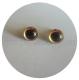 глазки 9мм золотистые