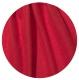 префельт + шелк малбери огненно красного цвета