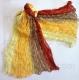 многоцветный шарф 018