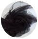 шарф-газ 110см*185см черный