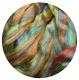 волокна нейлона радуга