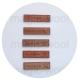 бирка деревянная 17мм*64мм