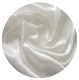 атлас шелковый 12мм белый 95см