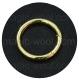 кольцо разъемное 40мм золото