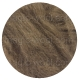 коричневый натуральный в гребенной ленте