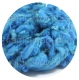 флис для фактуры голубая волна