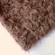 мохер 22мм кудрявый коричневый