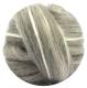 бленд шерсти шетланд серый с шелком tussah