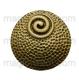 винтажный круг 38мм античная бронза