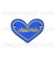 сердечко синее